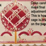 Image for Birdcage Popup Card and Giftbox  Part 3