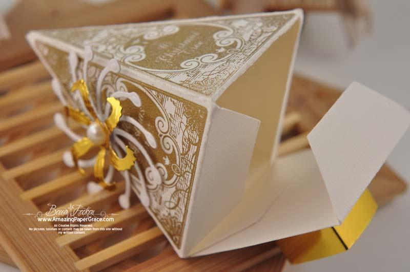 christmas tree box template