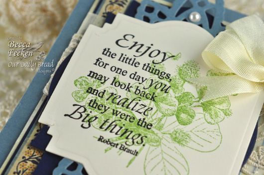 ODBD and Spellbinders card by amazingpapergrace using Simple Things and Little Things