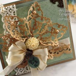 Spellbinders Filigree Flower Tutorial