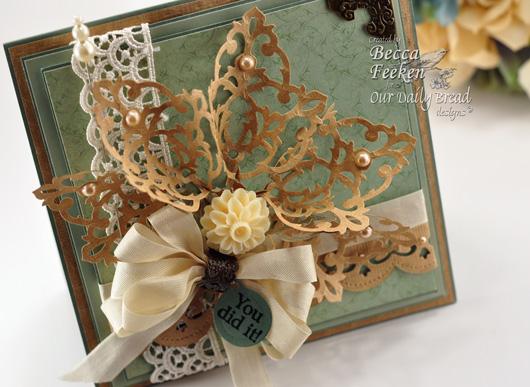 Spellbinders Filigree Damask Motifs Flower Bouquet