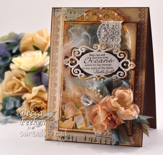 Amazing Paper Grace - Discover New Oceans - ODBD Tall card
