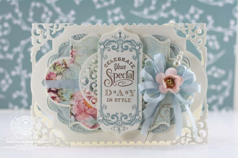 Card Making Ideas by Becca Feeken using Spellbinders Enchanted Labels Twenty Eight - www.amazingpapergrace.com