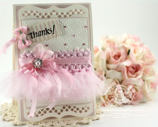 Little Girl Tutu Card - www.amazingpapergrace.com (WRBF-3815-2013)