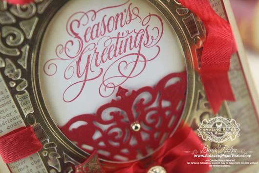 Christmas Card Grand Sentiments (closeup)