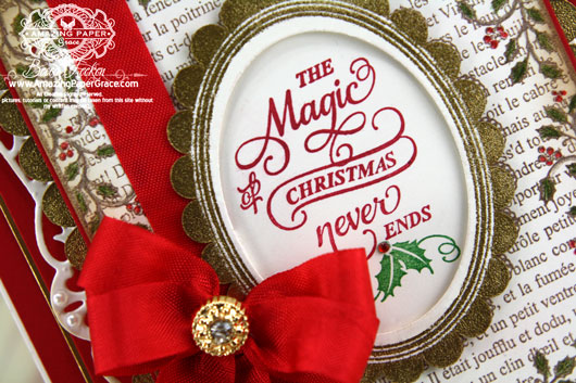 JustRite Papercrafts - Holly Frame Background Stamp, Christmas Inner Thoughts - Spellbinders Timeless Rectangles, Spellbinders Exquisite Labels Eleven, Spellbinders Classic Ovals LG (inside)