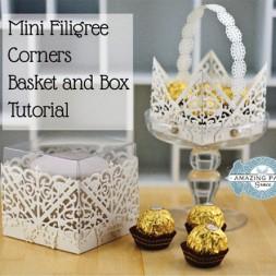 Filigree Corners Basket Tutorial by Becca Feeken