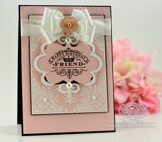 Card Ideas by www.amazingpapergrace.com using JustRite Papercraft – Elegant Corners Background, Birthday Wishes For You, Spellbinders Framed Petite Labels, Spellbinders Labels Four, Spellbinders Labels Fourteen, Spellbinders Twisted Metal Tags and Accents