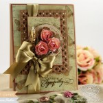 Card making ideas by Becca Feeken using Waltzingmouse - Big Day Today