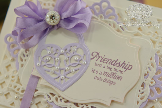 Card making ideas by Becca Feeken using JustRite Sweethearts and Spellbinders