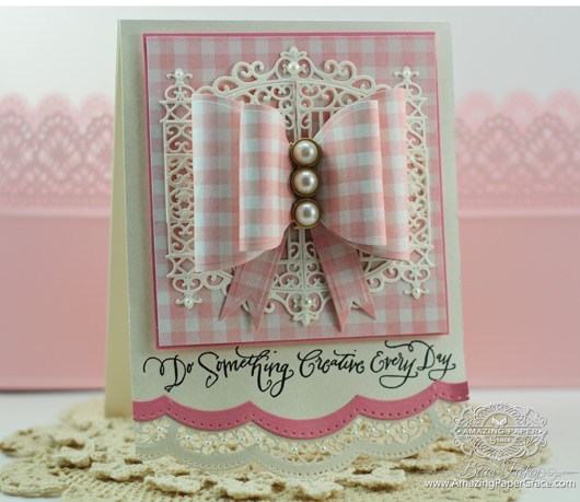 Card Making Ideas by Becca Feeken - Die Cut Bows Tutorial