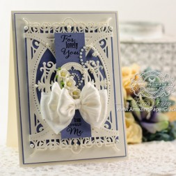 Gift Card Making Ideas by Becca Feeken using Spellbinders 5 x 7 Heirloom Legacy