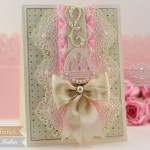 Easter Card Making Ideas by Becca Feeken Using Waltzingmouse Stamps - The Good Egg, Spellbinders Divine Eloquence and Tranque Moments