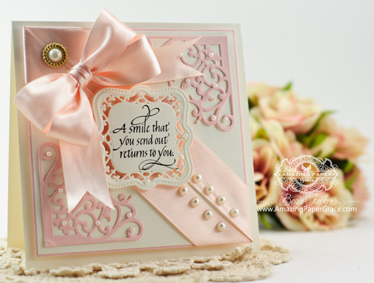 Card Making Ideas by Becca Feeken using Quietfire Design and Spellbimders Majestic Labels One