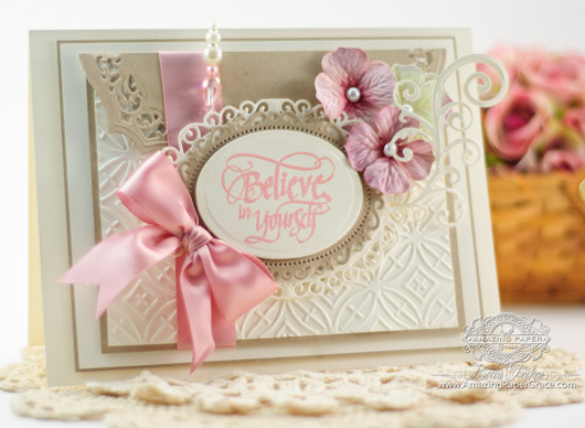 Encouragement Card Making Ideas by Becca Feeken using Quietfire Design - If You Don