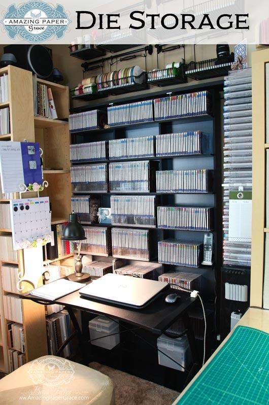 Amazing Paper Grace Die Storage