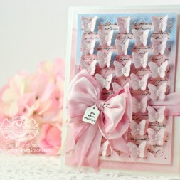 Friendship Card Making Ideas by Becca Feeken using Spellbinders Butterflies