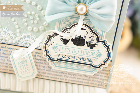 Card Making Ideas by Becca Feeken Using Waltzingmouse Afternoon Tea