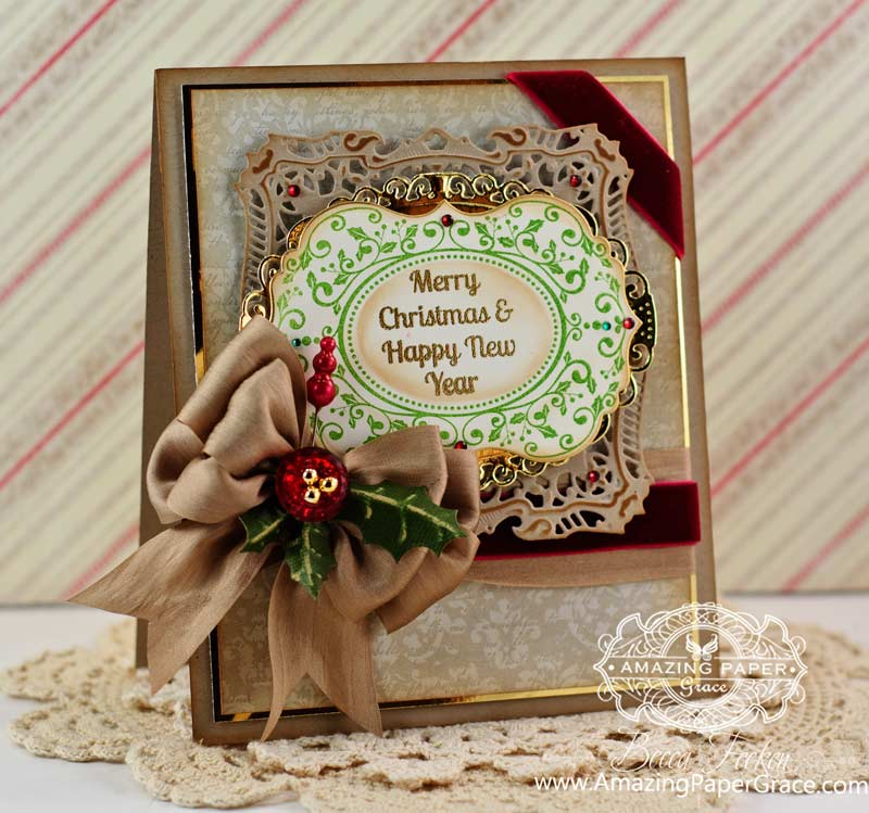 Christmas Vintage Labels Seven » Amazing Paper Grace