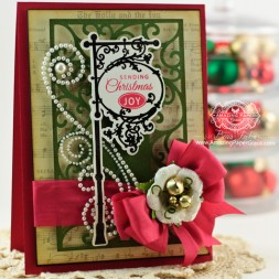 Christmas Card Making Ideas by Becca Feeken using JustRite