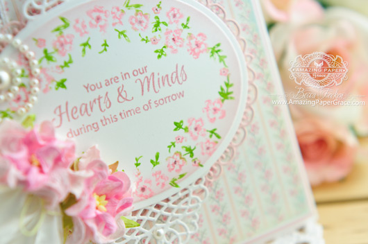 Sympathy Card Making Ideas - www.amazingpapergrace.com