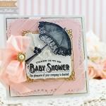 Baby Card Making Ideas by Becca Feeken using Waltzingmouse Vintage