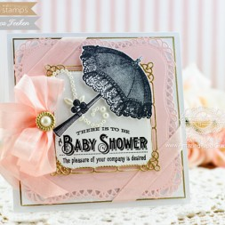 Baby Card Making Ideas by Becca Feeken using Waltzingmouse Vintage