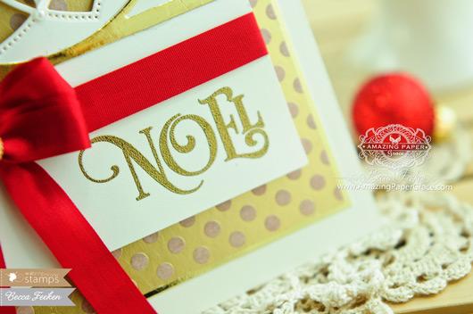 Christmas Card Making Ideas by Becca Feeken using Waltzingmouse and Spellbinders - www.amazingpapergrace.com
