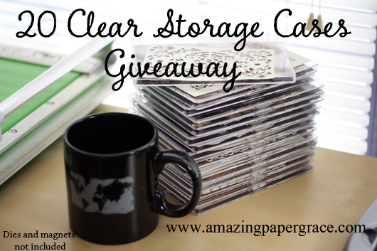 Clear Case Giveaway at amazingpapergrace.com