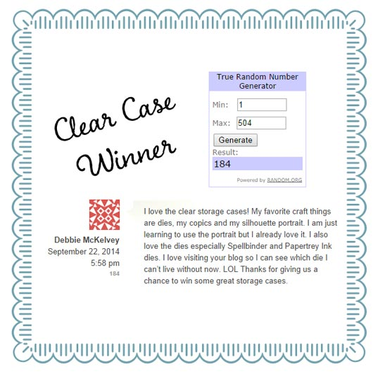 Clear Case Winner 09-27-14 - www.amazingpapergrace.com