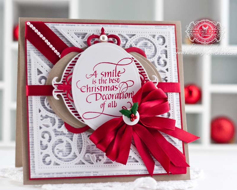 A Smile is the Best Christmas Decoration » Amazing Paper Grace