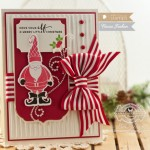 Christmas Card Making ideas by Becca Feeken using Waltzingmouse Jolly Old Elf , Pretty Panels 1 and Pretty Panels 2 - www.amazingpapergrace.com
