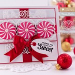 Christmas Card Making Ideas by Becca Feeken using Waltzingmouse Elf Made and Spellbinders Majesty and Mary Border Strip