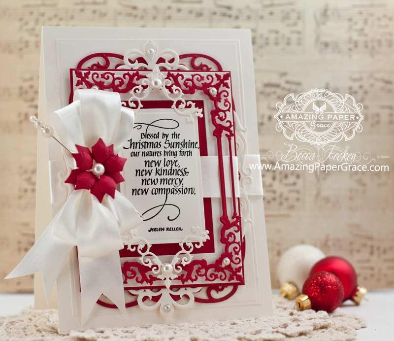 Christmas Sunshine » Amazing Paper Grace