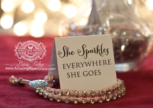 Gift Bracelets by Becca Feeken - www.amazingpapergrace.com