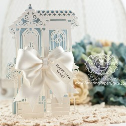 Card Making Ideas by Becca Feeken using Spellbinders Painted Lady - www.amazingpapergrace.com
