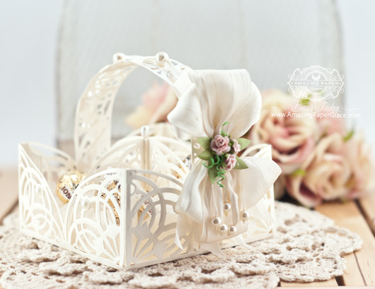 Card Making Ideas by Becca Feeken using Spellbinders Arched Elegance and Arched Elegance Pocket - www.amazingpapergrace.com