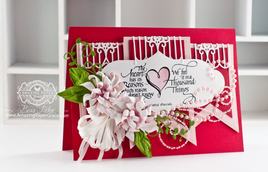 Valentines Day Card Making Ideas by Becca Feeken using Quietfire Design The Heart Has It