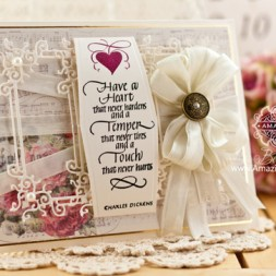 Card Making Ideas by Becca Feeken using Quietfire Design ??? and Spellbinders ??? - www. amazinggpapergrace.com