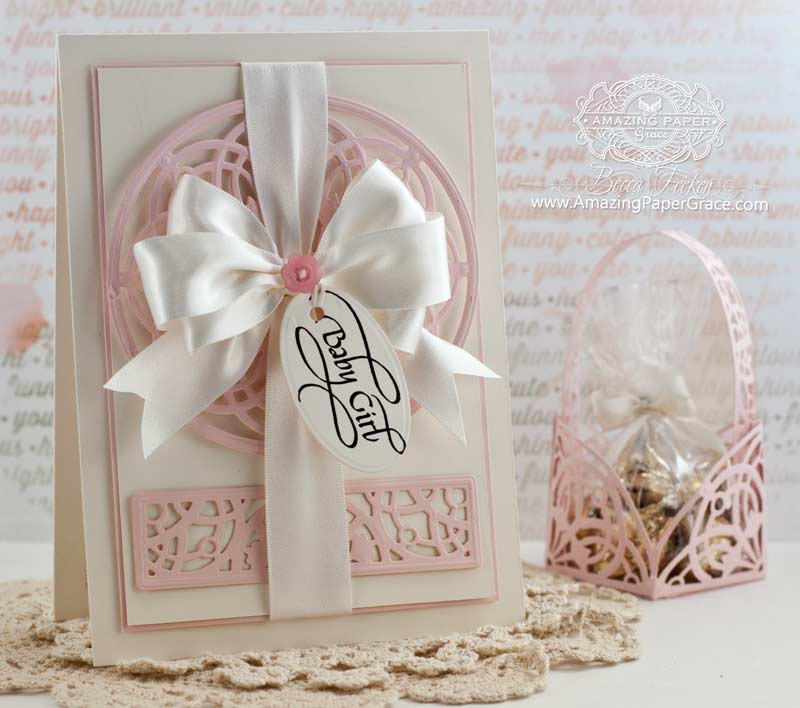 Baby Card Making Ideas Part - 28: Baby Card Making Ideas By Becca Feeken Using Quietfire Design And  Spellbinders Arched Elegance And Arched