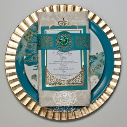 Dinner Table Set Ideas by Becca Feeken using Spellbinders Swirl Bliss Pocket - www.amazingpapergrace.com