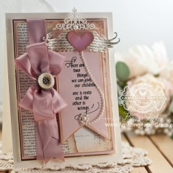 Card Making Ideas by Becca Feeken using Quietfire Design and Spellbinders - www.amazingpapergrace.com