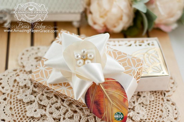 Gift Making Ideas by Becca Feeken using Spellbinders Arched Elegance and Spellbinders Arched Elegance Pocket - www.amazingpapergrace.com