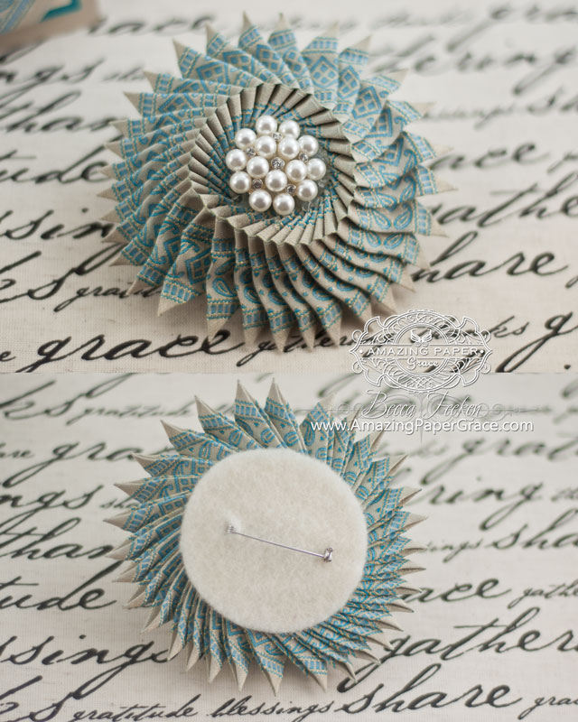 Handmade Gift Making Ideas by Becca Feeken using Ribbon and Spellbinders Elizabeth Border - www.amazingpapergrace.com