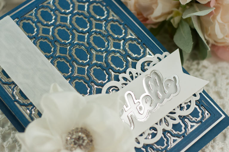 Tutorial by Becca Feeken - How to Use Intricate Dies and Patterned Dies for Mincing - www.amazingpapergrace.com