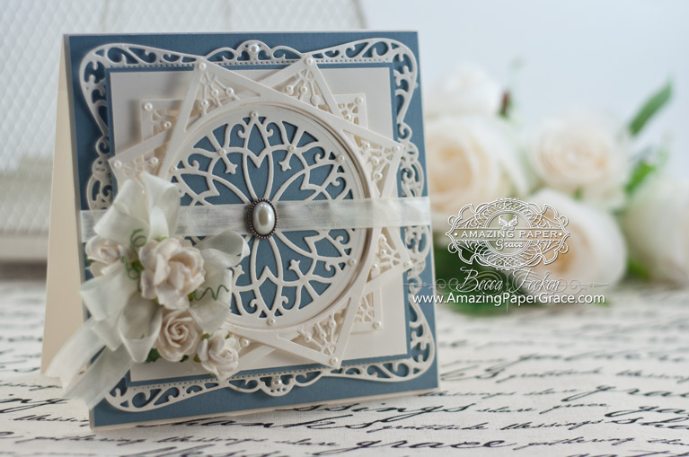 Card Making Ideas by Becca Feeken using Spellbinders Timeless Rectangles - www.amazingpapergrace.com