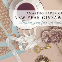 Amazing Paper Grace New Year Giveaway Day 1