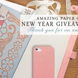 Amazing Paper Grace New Year Giveaway Day 1 - www.amazingpapergrace.com