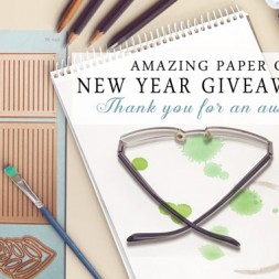 Amazing Paper Grace New Year Giveaway Day 3 - www.amazingpapergrace.com