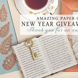 Amazing Paper Grace New Year Giveaway Day 4 - www.amazingpapergrace.com